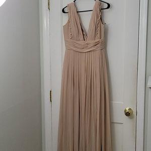 Monique Lhuillier Chiffon Formal Dress